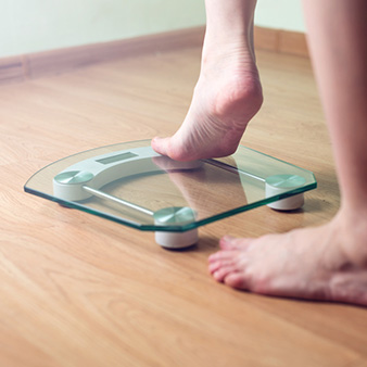 Why is a scale not a good tool to monitor your weight loss?
