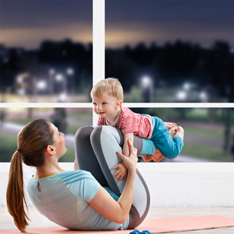 Post Natal Workouts – that you can enjoy at home (with your kids)