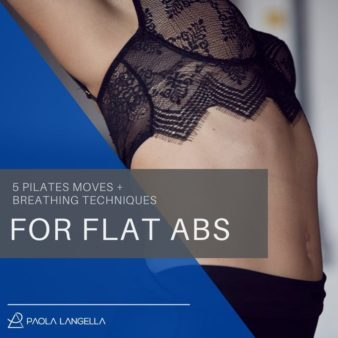 5 effective pilates moves for a flat tummy