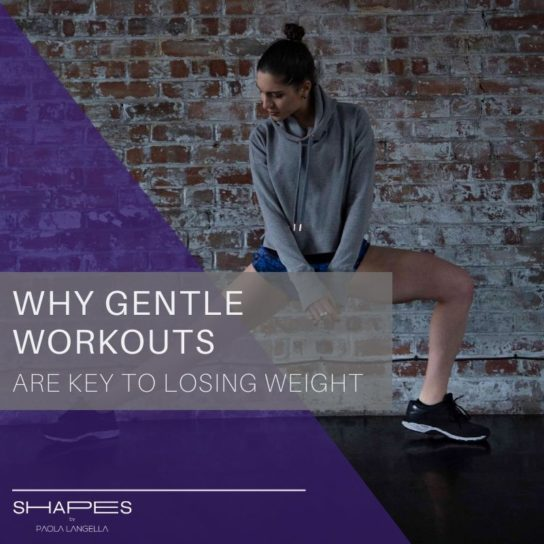 Why gentle excercises are key to losing weight
