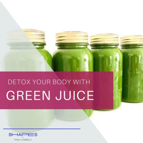 Green juice recipe - detox and cleanse