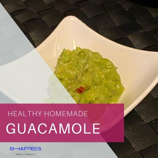 Healthy homemade guacamole recipe