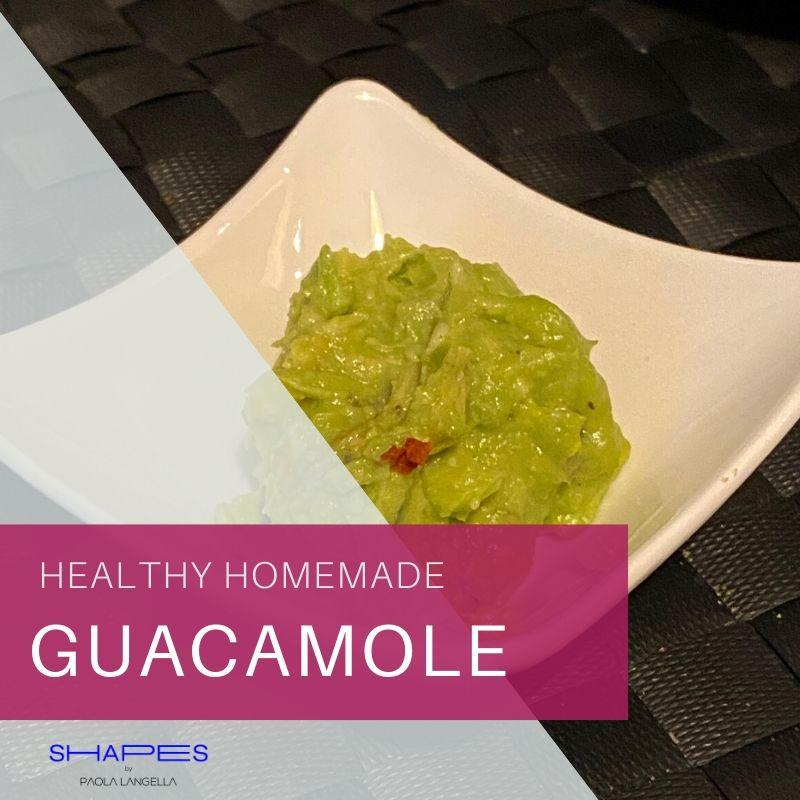 Healthy homemade guacamole recipe